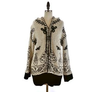 Anthropologie Sleeping on Snow Cardigan